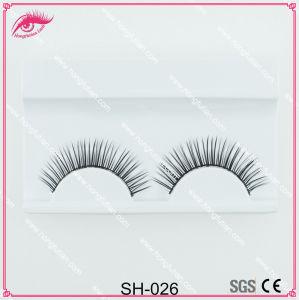 Beautiful Private Label Synthetic Hair Eyelash Strip Eyelash Fiber Lash pictures & photos