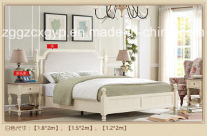 Wood Home Bedroom Wood Bed/High Quality Wood Bed/Fashionable Wood Bed Cx-Wb113 pictures & photos