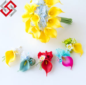 High Quality Mini Artificial Flowers, PE Calla Lily