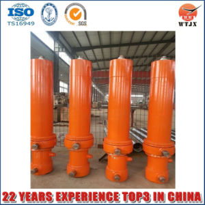 Long Stroke and Big Bore Telescopic Hydraulic Cylinder for Truck pictures & photos