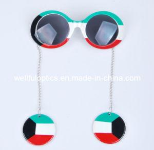 party glass Flag Pendant Sunglasses Fotball Glass