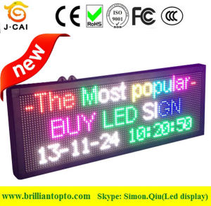Advertising P10 Full Color LED Display Screen (96*32cm) pictures & photos