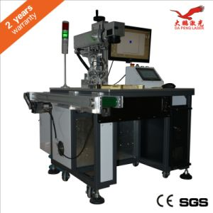 Laser Marking on The Fly Engraving Machine pictures & photos