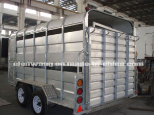 Tandem Axle Livestock Trailers/Cattle or Pig Trailers (GW-LT12) pictures & photos