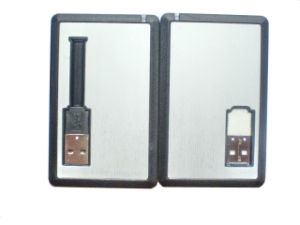 Real Capacity Credit Card USB Flash Drive (OM-P502) pictures & photos