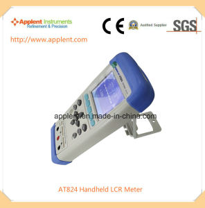 Portable Lcr Meter with Test Frequency From 100Hz to 1kHz (AT824) pictures & photos