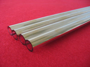 High Quality Gold Plating Quartz Tube for Heater pictures & photos