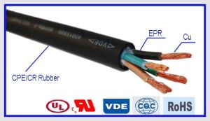 Heat Resistant Rubber Welding Power Cable pictures & photos