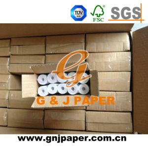 55mm Width Small Roll Thermal Paper with Non Core pictures & photos