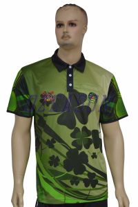 New Design Digital Printed Unisex Golf Polo Shirts (P018) pictures & photos