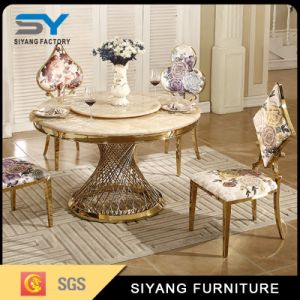 Hotel Furniture Shivering Sofa Chair with Gold Metal Frame pictures & photos