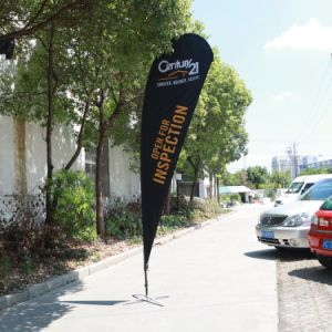 Good Quality Outdoor Flying Flag Banner Beach Flag From Tongjie pictures & photos