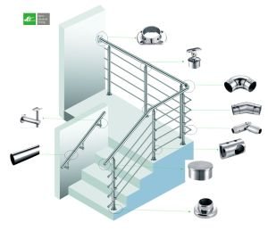 Supplier Mafacturer Stainless Steel Stairs Handrail pictures & photos