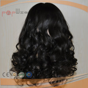 Top Grade Brazilian Hair Curly Silk Top Wig (PPG-l-0163) pictures & photos