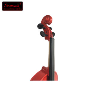 Musical Instrument Student Violin Colourful Wholesale Violin pictures & photos