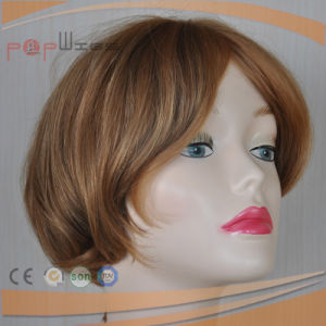 High End European Hair Blond Hair Wig pictures & photos