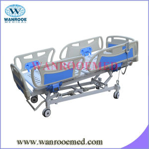 Bae505A Hospital Furniture Five Functions Electric Hospital Adjustable Patient Bed pictures & photos