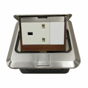 New Style High Qualtiy Household British Telephone & One-Way Floor Socket pictures & photos