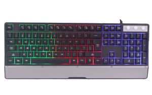 Hot Colorful USB Gaming Keyboard for Computer Laptop pictures & photos