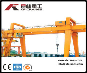 Heavy Duty Gantry Crane with Wire Rope Hoist pictures & photos