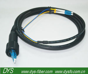 Multi-Mode Black Outdoor Optical Fiber Patch Cable pictures & photos