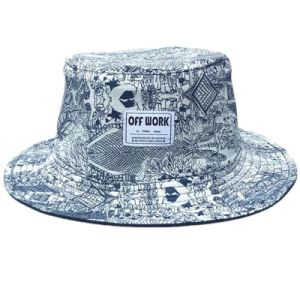 Leisure Multiple Purpose Polyester Bucket Hat with Customized Logo pictures & photos