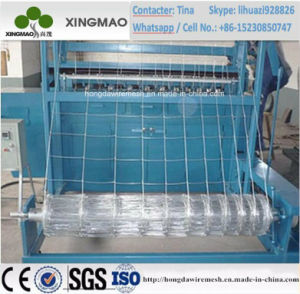 2m Width Automatic Animal Fence Making Machine/ Field Fence Machine pictures & photos