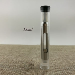 Wholesale Price E Cigarette Ceramic Coil Atomizer 510 Thread Vape Pen Glass Tank Thick Cbd Oil Atomizer pictures & photos