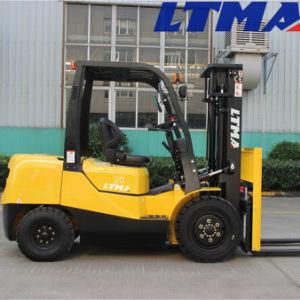 Best Price Mini 2 Ton Diesel Forklift Truck pictures & photos