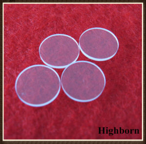 Clear Fire Polish Round Quartz Glass Disc Plate Supplier pictures & photos