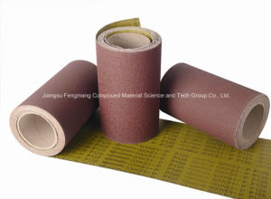 Waterproof Aluminum Oxide Abrasive Cloth Gxk51-P pictures & photos