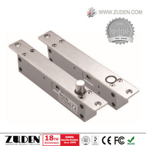 High Security Electric Rim Lock with Double Cylinder, Nickel Plating pictures & photos