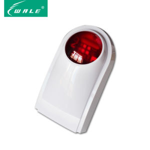 Loudly Sound Outdoor Wireless Strobe Siren with Red Light Flashing pictures & photos