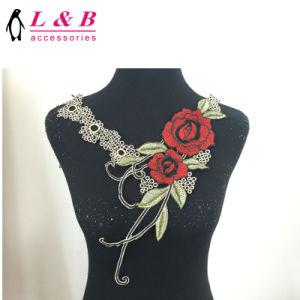 Custom Large Size Clothes Accessories Flower Motif Applique pictures & photos