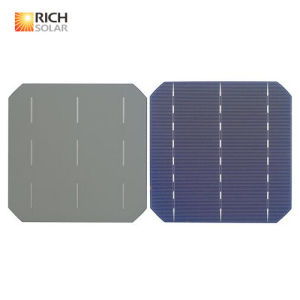 125*125mm Mono /Poly Solar Cell Solar Cells with 25 Years Warranty pictures & photos