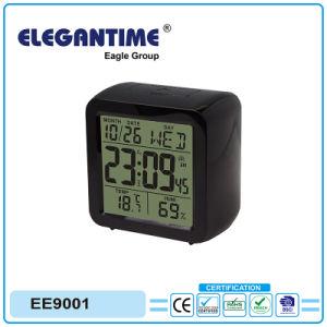 Original Design Big Digital Display with Thermometer and Hygrometer Calendar Clock pictures & photos