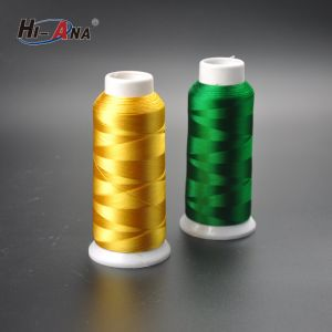 24 Hours Service Online Dyed Royal Embroidery Thread pictures & photos