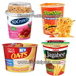 Automatic Noodle Bowl Sealing Machine (BG-6) pictures & photos