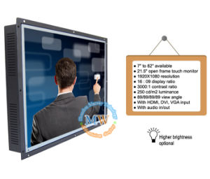 Open Frame 21.5 Inch Touch Monitor with USB Port and RS232 Optional (MW-211MET) pictures & photos