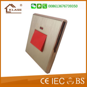 Asia Popular PC 45A Electric Wall Switch pictures & photos