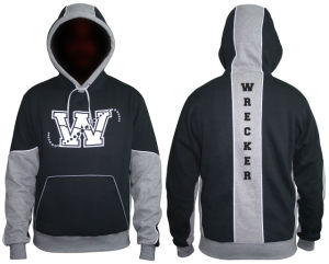 Fashion Cool Look Cut & Sewn Pullover Hoodies (H030W) pictures & photos