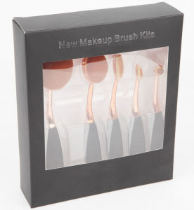 New Five Pieces Durable Kits Toothbrush Oval Makeup Brush pictures & photos