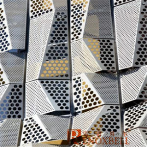 Perforated Aluminum Panel for Wall Veneer / Perforated Aluminum Cladding pictures & photos