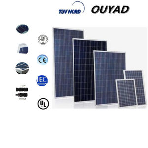 Best Price 260/270/280/290/300260-300W Poly Solar Panel for Solar Lamp pictures & photos