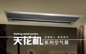 Ceiling Wind Cooling Air Curtains by Recessed Type Design pictures & photos
