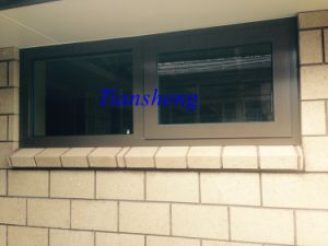 Aluminum Top Hung Window with Double Glazing pictures & photos