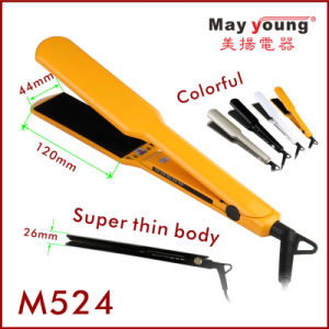 Super Thin Wide Plate Digital Hair Flat Iron pictures & photos