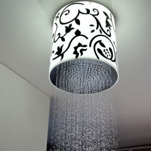 Rainfall Shower Head 300mm Ceiling LED Shower Head