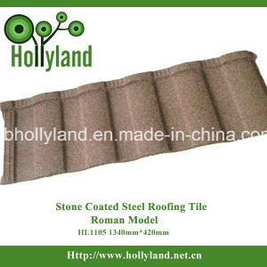 Stone Chips Coated Metal Roofing Sheet (Roman Type) pictures & photos