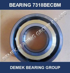 Angular Contact Ball Bearing 7318 Becbm with Brass Cage pictures & photos